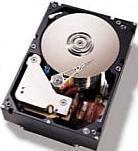 Inside a hard disk