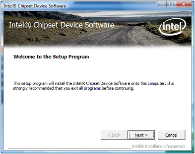 Intel Driver Installation