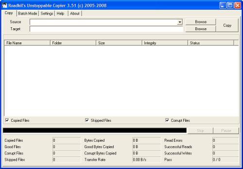 Unstoppable copier 3.5.1