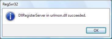 Urlmon.dll registration