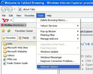 tabbed browsing