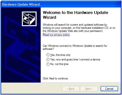 Windows Hardware Upgrade Wizard