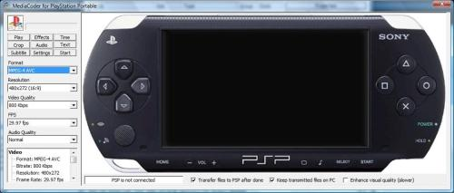 Convert Multimedia for PSP