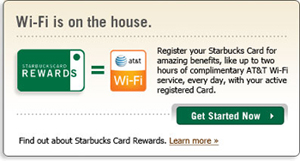 Starbucks Cash Rewards